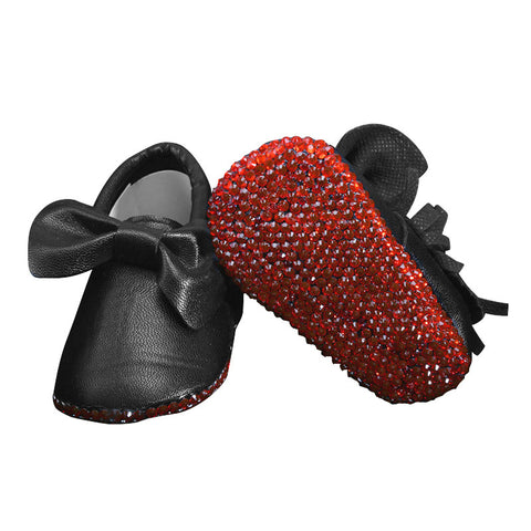 Black Magic Leather Shoes - Cozy Nursery