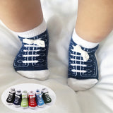Newborn Shoe Socks - Cozy Nursery
