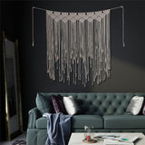 Macrame Wall Hanging Curtain