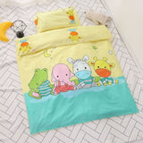 Baby Crib Bedding 3pcs Set Pure Cotton