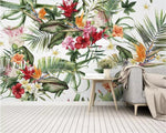 Rainforest Plant  Silk 3d Wallpaper