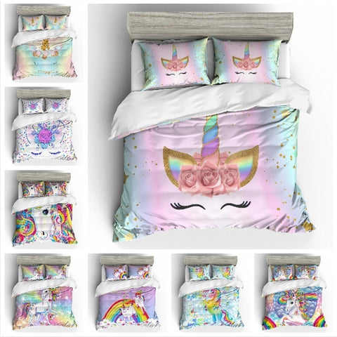 Unicorn Bedding Duvet Sets - Cozy Nursery