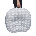 Portable Lounger Elephant pattern - Cozy Nursery