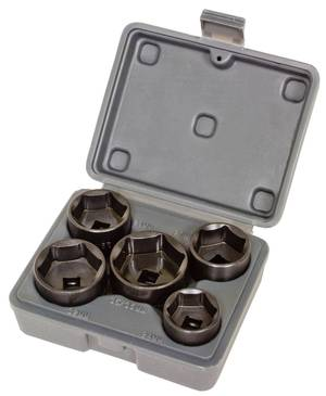 Lisle 13300 5pc. Filter Socket Set