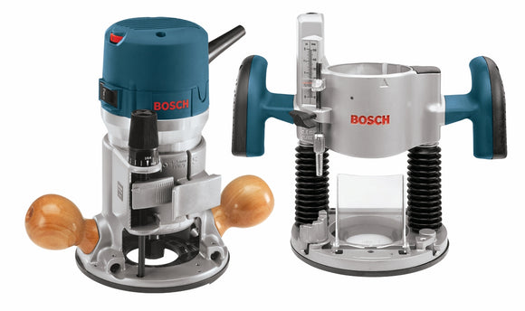 Bosch 1617EVSPK 2.25 HP VS Router Combo Kit