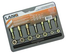 Lang 2584 15pc. Master Metric Thread Restorer Set