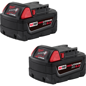 Milwaukee 48-11-1852 M18™ REDLITHIUM™ XC5.0 Extended Capacity Battery Two Pack