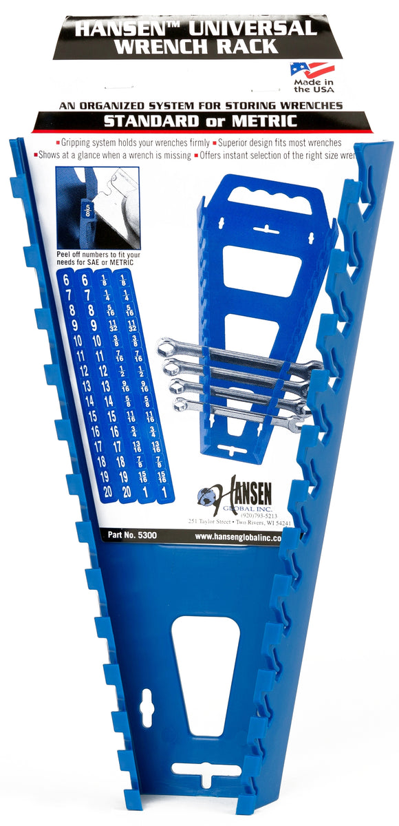 Hansen Global 5300 Universal Wrench Rack
