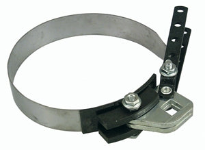 "Lisle 53100 Adjustable Oil Filter Wrench 4 3/8"" - 5 5/8"""