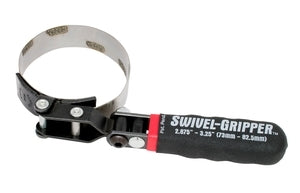 Lisle 57020 Swivel Gripper - No Slip Filter Wrench - Small