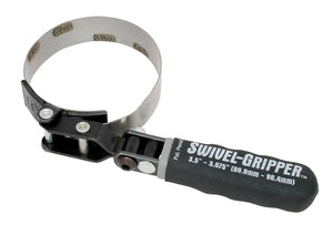 Lisle 57030 Swivel Gripper - No Slip Filter Wrench - Standard