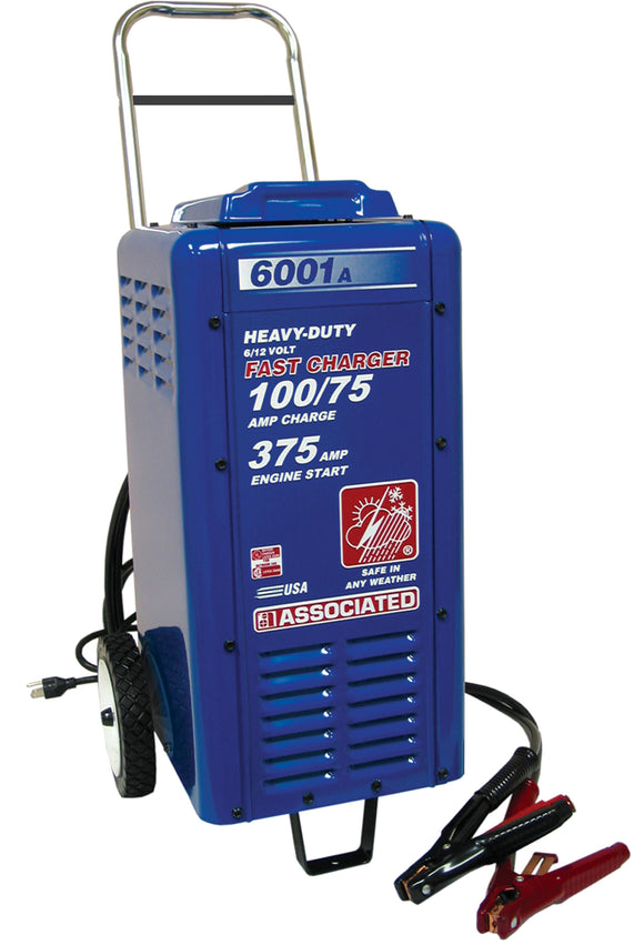 Associated Equipment 6001A 6 /12 Volt Heavy Duty Commercial Charger