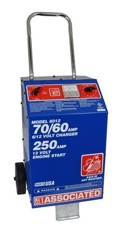 Associated Equipment Corp. 6012 Professional Fast Battery Charger