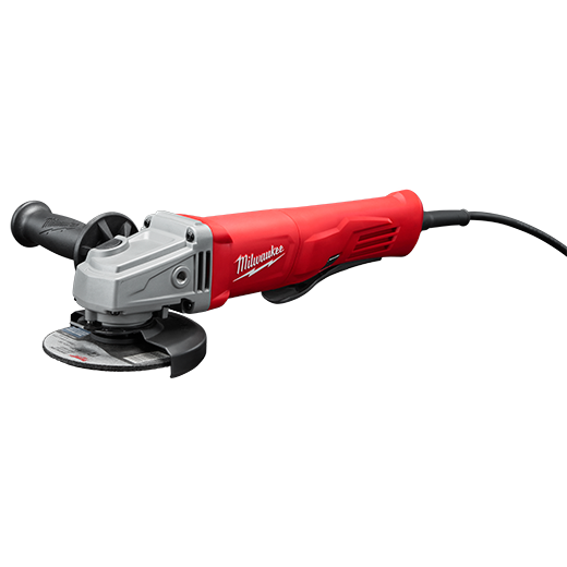 Milwaukee 6141-31 11 Amp Corded 4-1/2 in. Small Angle Grinder Paddle No-Lock