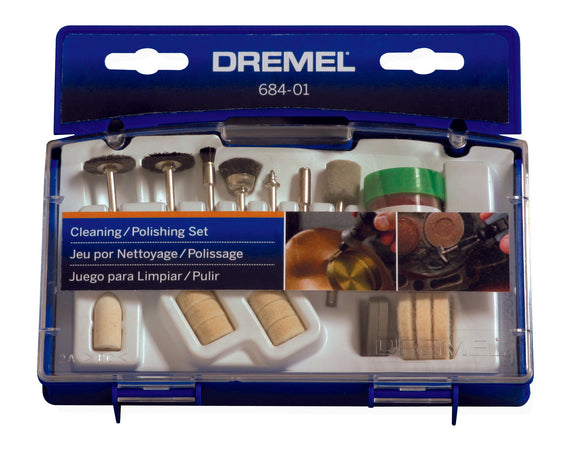 Dremel 684-01 20 pc. Cleaning and Polishing Kit