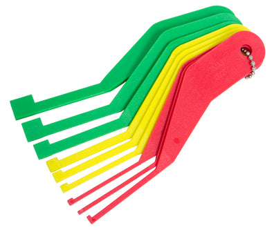 Lisle 81850 Combination Brake Lining Thickness Gauge Set