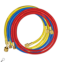 "Mastercool 84372 Set of 3 72"" R134a Hose"