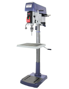 "Palmgren 9680209 20"" Heavy Duty Floor Step Pulley Drill Press - 16 Speed"