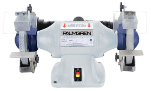"Palmgren 9682101 10"" 1 HP Bench Grinder with Dust Collection"