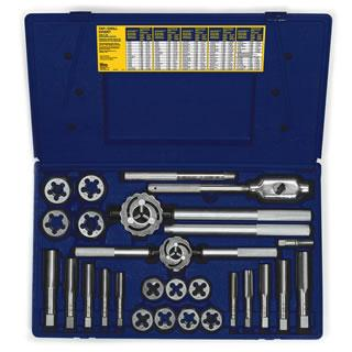 Irwin 97094 25-pc Fractional Tap & Hex Die Set