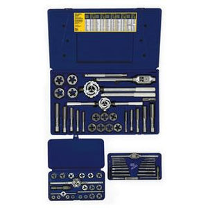 Irwin 97606 66-pc Machine Screw / Fractional & Hex Die Set