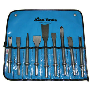 Ajax Tools A9029 Air Chisel Set 9-Pc