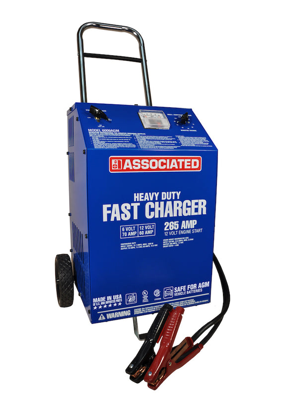 Associated Equipment 6009AGM Heavy Duty Commercial Fast Battery