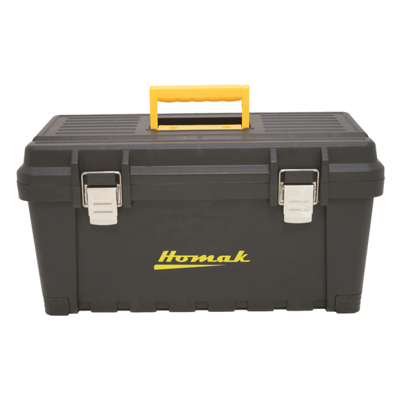 Homak Black Plastic Tool Boxes (Priced Individually)