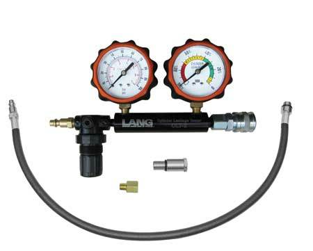 Lang CLT-2PB Cylinder Leakage Tester with 2 Gauges - 100psi