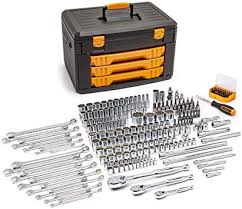 GearWrench 80972 - 243 Piece SAE/Metric Mechanic's Tool Set With 3 Drawer Case
