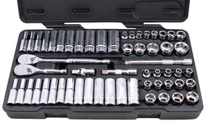 GearWrench 80550 - 57 Piece 3/8-Inch Drive 6 Point Socket Set