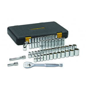 GearWrench 80700 - 49 Piece 1/2-Inch Drive 6 Point Socket Set