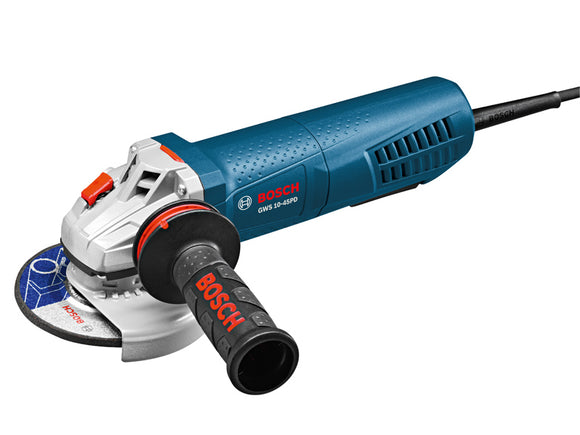 Bosch GWS10-45PD 4-1/2 In. Angle Grinder with No-Lock-On Paddle Switch