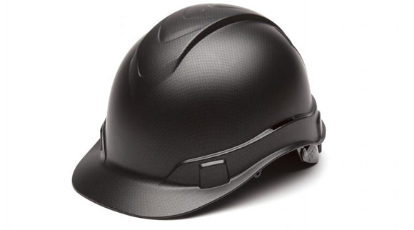 Pyramex HP 44117 Hard Hat Graphite Pattern Ridgeline Cap Style 4pt. Ratchet Suspension