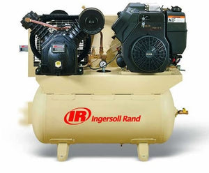 Ingersoll Rand 2475F14G Two Stage 30 Gallon 14HP Gas Drive Cast Iron Air Compressor - Kohler Engine