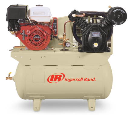Ingersoll Rand 2475F13GH 13-HP 30-Gallon 2-Stage Truck Mount Air Compressor w/ Honda Engine