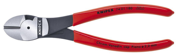 Knipex 74 Series High Leverage Diagonal Cutter: Sizes Individually Priced