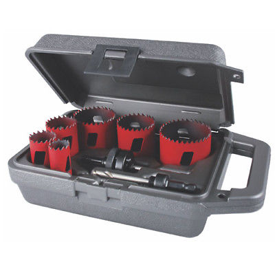 MK Morse MHS08E Holesaw BIM MHS Kit Electrician 13pc.