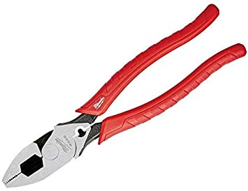 Milwaukee 48-22-6100 Comfort Grip High Leverage Lineman's Pliers with Crimper - 9