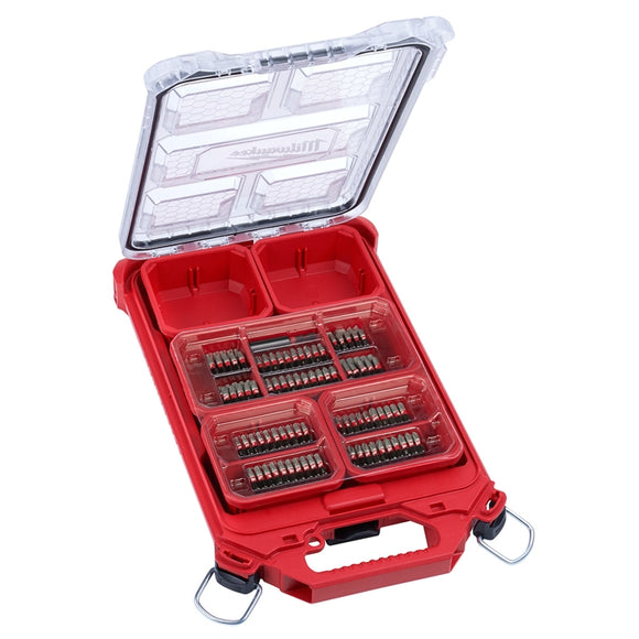 Milwaukee 48-32-4080 SHOCKWAVE 101Pc Impact Driver Bit PACKOUT Set