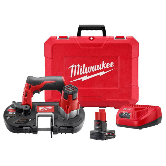 Milwaukee 2429-21XC M12™ Cordless Sub-Compact Band Saw Kit