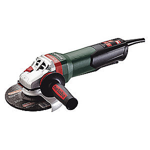 "Metabo WPB 12-150 Quick - 10.5 Amp Paddle-Switch Angle Grinder with 6"" Wheel"