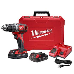 "Milwaukee 2606-22CT M18™ Compact 1/2"" Drill/Driver Kit"