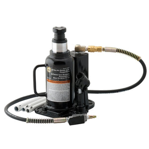Omega Lift 18204C 20 Ton Air/Hydraulic Bottle Jack