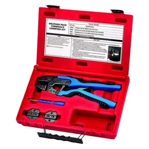 S & G Tool Aid 18850 Weather Pack Terminals Crimping Kit