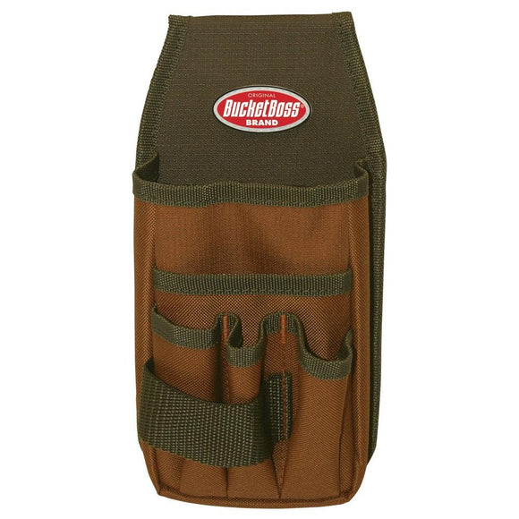 Bucket Boss 54170 Utility Pouch w/ Flap Fit