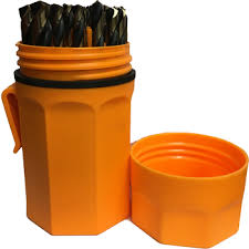 Norseman 46962 29pc. Bull Bit Set ORANGE Case