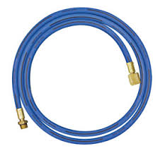 Mastercool 45721 72in Blue Hose w/ Shut-Off Valve