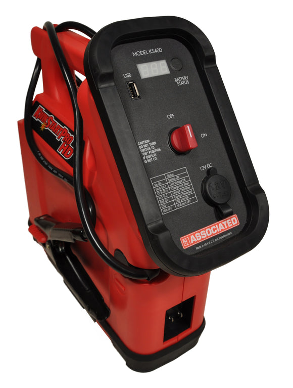 Associated Equipment Corp. KS400 Professional Heavy Duty Industrial Jump Starter