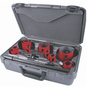 MK Morse MHS08I Holesaw BIM MHS Kit Industry 15pc.